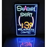 Buy cheap Customized size Hanging Or Wall Mounted Crystal Acrylic led display for advertising product