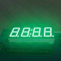 Buy cheap Pure Green 4 Digit 7 Segment Led clock Display 0.56 Inch  common anode For Instrument Panel product