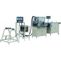 Buy cheap Panel Paper Filter Manufacturing Machines , 0.6Mpa Industrial Pleating Machine product