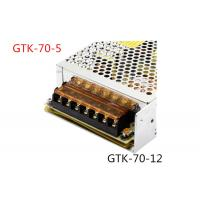 Buy cheap Automatically Recovers Regulated Switching Power Supply 70W DC 5A Low Power Consumption product