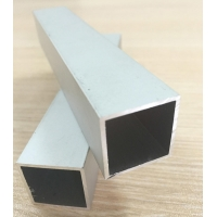 Buy cheap 50mm Aluminum Alloy Square Tubing 3mm Thickness Mill Finish 6063 T5 product