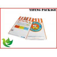 Buy cheap customer's design and colorful printing laminated foil pet food bags with window from wholesalers