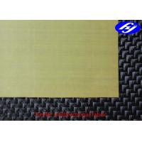 Buy cheap High Performance Aramid Fiber Fabric 2ply 0 / 90 Kevlar Fiber Unidirectional Fabric from wholesalers