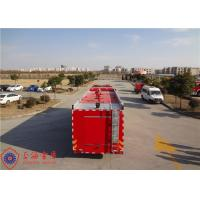 Buy cheap Foam Capacity 9000kg Fire Pumper Truck , Total Side Girder Heavy Rescue Fire Truck product