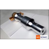 Buy cheap Customized 15khz 3300w Ultrasonic Welding Transducer With Booster product