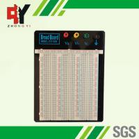 Soldering Electronic Breadboard Projects 2390 Points With Colored Coordinates