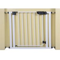 Buy cheap Custom Extra Wide White Kids Safety Gate For Babies, 75 * 85cm product