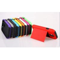 Buy cheap PC Silicone 2 in 1 Name Card Clip Shock Proof Combo Case for Samsung Galaxy S4, i9500 product