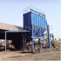 Buy cheap Pulse Jet Bag Filter Dust Collector Equipment Low Emission For Asphalt Mixing Site product