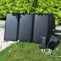 Buy cheap 28W Outdoor Dual USB Port Solar Powered Portable Cell Mobile Phone Charger product