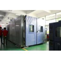 China Stainless Steel Walk In Environmental Chamber For Vehicle Reliability Testing wholesale
