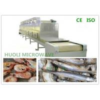 Buy cheap Sea Food Microwave Drying Machine And Sterilization Equipment For Shrimps / Fish product