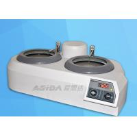 Buy cheap AC220v 50hz Metallographic Equipment Lapping Machine 280mm Depth product