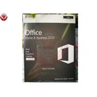 Buy cheap Microsoft Office 2016 Home And Business For Mac  Installation 100% Activation product