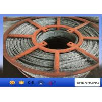 China 15mm Hexagon Galvanized Steel Wire Rope 12 Strands Anti Twisting on sale