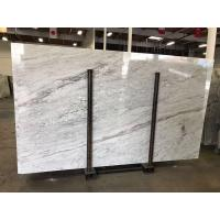 Buy cheap Colonial White Luxury Granite And Quartzsite Stone Slab For Book Matched Background product