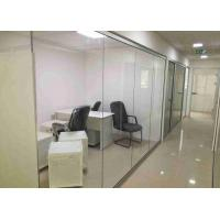 Buy cheap Double Glazed Demountable Glass Partitions Concealed Edge  Dry Clear Pvc Joint product