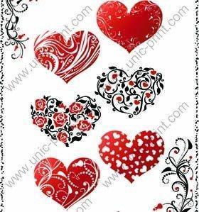 Buy cheap 中心のバレンタイン デーの一時的な入れ墨のステッカー/ステッカー product