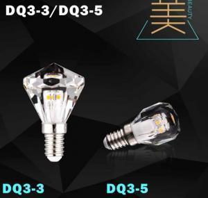 Buy cheap diamond led bulb lamp crystal light candle bulb led from wholesalers