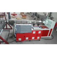 Buy cheap Hollow Out Type Plastic Mat Manufacturing Machine For 1200 - 2100mm Width Mats product