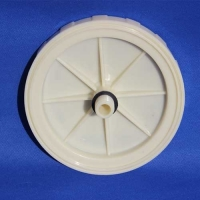 Buy cheap Membrane EPDM Diffuser Disc For Water Treatment Coarse Bubble Diffuser product