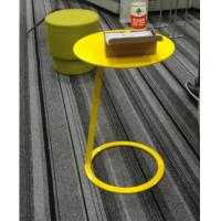 Buy cheap Small Side Round Metal Coffee Table Simple Design Optional Colors For Home product