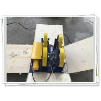 Buy cheap CE / ISO PU Coated Bolt Adjustable Light Duty 1000kg Pipe Rotators For Welding product