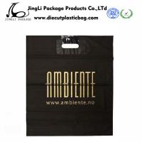 Buy cheap Customized Degradable Die-Cut Plastic handle Bags with 0.12mm Thickness product