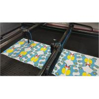 Buy cheap High Performance Cnc Fabric Cutting Machine , CO2 Laser Cutting Machine from wholesalers