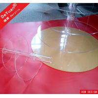 Buy cheap Round Acrylic Display Stands Plastic Display Stands For Cake Wedding Party product
