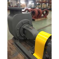 Wastewater Treatment Stainless Steel Self Priming Pump 2900 Rpm With Semi Open Impeller