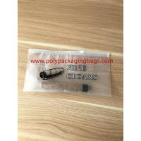 Buy cheap Zipper Locks Resealable Cigar Humidor Bags With Slider LDPE Laminated White Color product