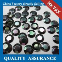 Buy cheap China wholesale black rhinestuds hot fix, octagon rhinestuds hot fix, hot fix studs product