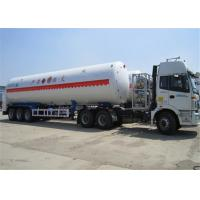 Buy cheap Tri axle  50000 liters fuel tank semi trailer / gasoline transport tank semi trailer product