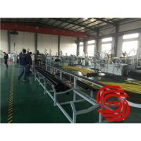 China HDPE Pipe Extrusion Line / Extruder Machine Vacuum Forming With 40mm-110mm Dia on sale