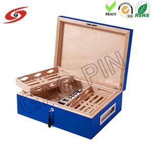 Buy cheap La boîte en bois de cigare (de haute qualité)/boîte à cigares adaptent/boîtes aux besoins du client adaptent aux besoins du client/conception boîte en bois/boîte d'emballage product