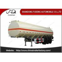 Quality Tri Axle Fuel Tanker Semi Trailer 45000 Liters With Carbon Steel for sale