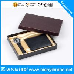 Reloj y cartera determinados del regalo