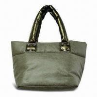 Buy cheap Handbag, Made of PU Coated Fabric, with Imitation Lizard Pattern product