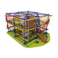 Buy cheap Mix Color Indoor Adventure Playground Food Grade Plastic Long Life Span product