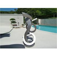 Buy cheap Brushed Craft Stainless Steel Sculpture Art Home Decoration Swimming Pool Garden product
