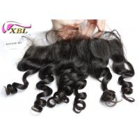 China Fashion Style Grade 8A Ear To Ear Lace Front Closure Light Brown Lace Color on sale