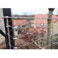 Buy cheap 1x7 1.2mm 4.0mm 304 316 316L Balustrade Wire Mesh product