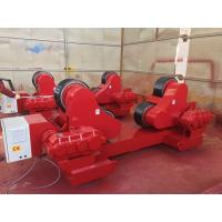 Buy cheap 100 Ton Loading Capacity Self-Aligned Welding Turning Rolls With Rubber Wheel 5 from wholesalers