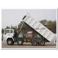 China popular type HOWO 371hp dump truck white color direct selling LHD or RHD on sale