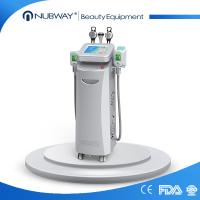 Buy cheap New develop 2016 strong powerful best cooling multi-function 5 handles cavitaion vacuum Cryo rf cryolipolysis equipment from wholesalers