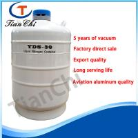 Buy cheap Biological freezing cryogenic tanks 30 L ln2 dewar tank in wedding industry product