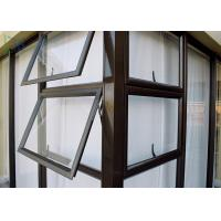 Buy cheap Residential Aluminum double Awning Window Customized Deocration product