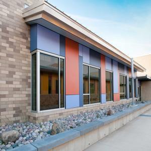 Buy cheap 反紫外線外部の装飾的な壁のクラッディング product