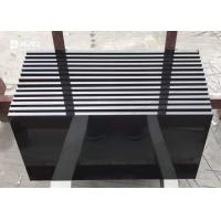 Quality Customized Size Black Granite Floor Tiles Polished Granite Countertop Tiles for sale